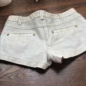 New vegan leather shorts by Free People  size 4